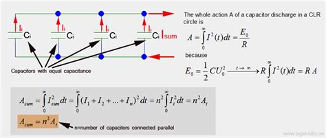 schematic diagram of capacitor bank circuit and
