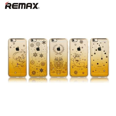 Remax Series Tpu Protective Soft Iphone 6s Plus Gold 1 remax snowflake series tpu protective soft