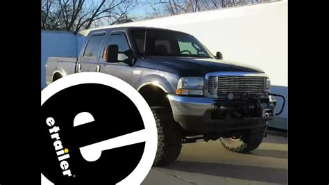 boat trailer electric winch mount install trailer hitch electric winch mount plate 2003 ford