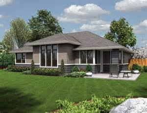 Green Home Floor Plans rear rendering of mascord plan 1169es the modern ranch