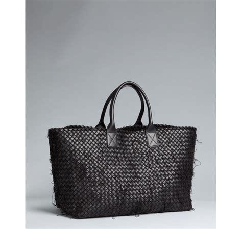 Bottega Veneta Oversized Intrecciato Tote Purses Designer Handbags And Reviews At The Purse Page by Bottega Veneta Black Intrecciato Leather And Netting