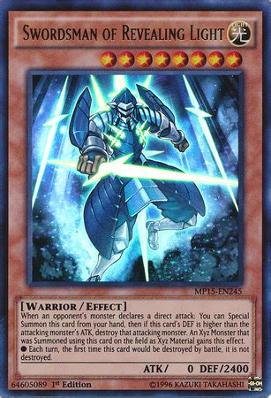 swordsman of revealing light yu gi oh fandom powered