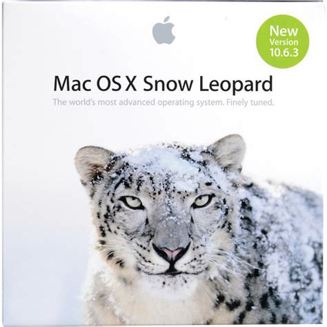 Mac Os X 10 6 apple mac os x 10 6 snow leopard mc573z a b h photo