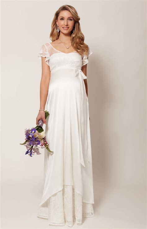 Juliette Maternity Wedding Gown (Ivory)   Maternity