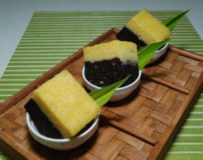 aneka resep masakan cake singkong lapis coklat