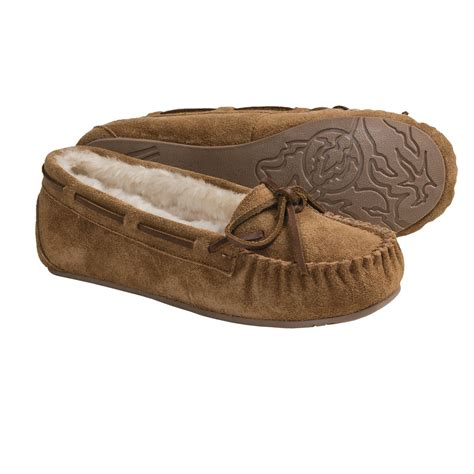 moccasin slippers womens clarks suede moccasin slippers for 3701g save 38