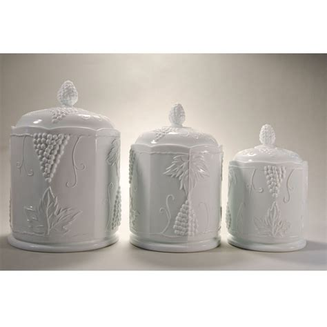 Grape Canister Sets Kitchen by Canisters Astonishing Grape Canisters For The Kitchen