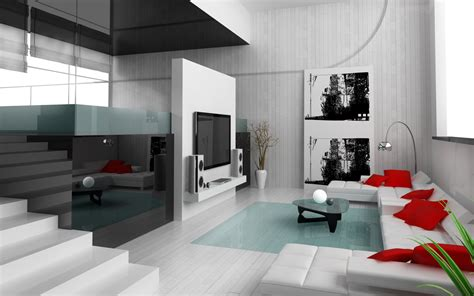 Interior Designing Living Room Photos | 28 red and white living rooms