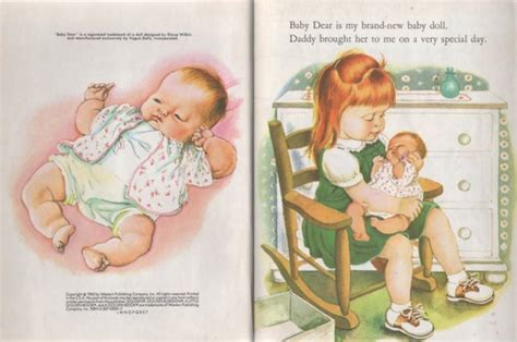 dear baby stories books kathleenw deady children s author golden books