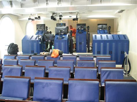 press room white house press briefing room skype seats filled intellihub other alt media denied