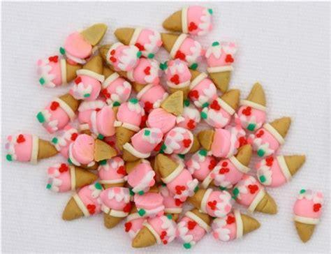 Miniatur Wafel pinke eiscreme waffel miniatur deko kawaii 5 st 252 ck
