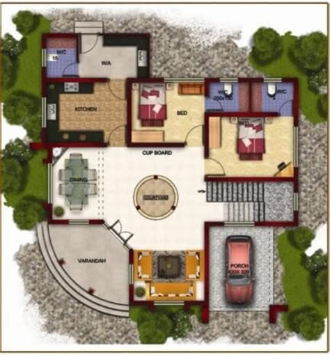 bungalow style floor plans bungalow house plans bungalow map design floor plan india