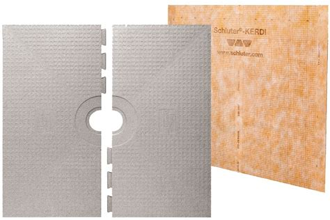 Ditra Shower Pan by Schluter Kerdi Shower System 72x72 Pan Only