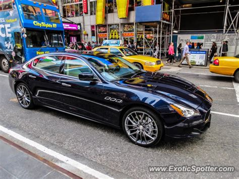 maserati nyc maserati quattroporte spotted in new york city new york