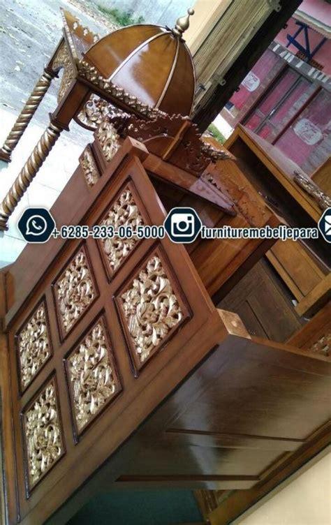 Daftar Cermin Hias contoh mimbar masjid harga terjangkau call 6285233065000