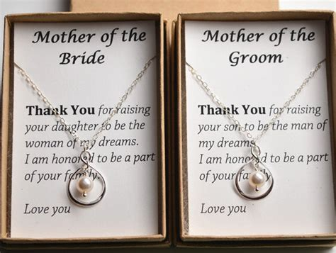 thank you letter to parents of the groom items similar to of the groom gift necklace gift