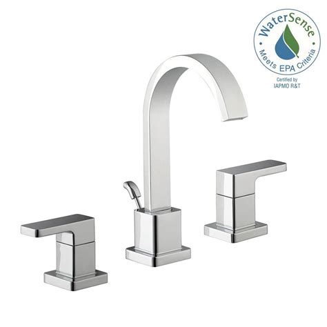 Schon Faucet by Schon Marx 8 In Widespread 2 Handle High Arc Bathroom Faucet In Chrome Hd67751w 6001 The Home