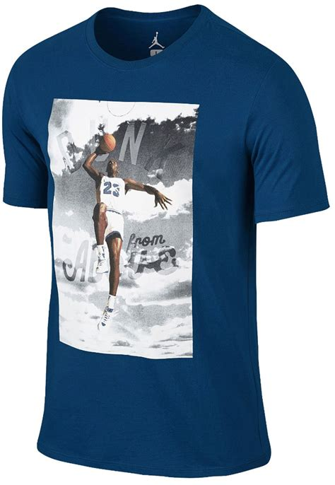 Jordan Shirts to Match the Air Jordan 12 French Blue ... Jordan 12 French Blue Shirt
