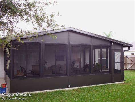 florida room kits lake florida sunroom addition acrylic windows prager builders sunroom pro