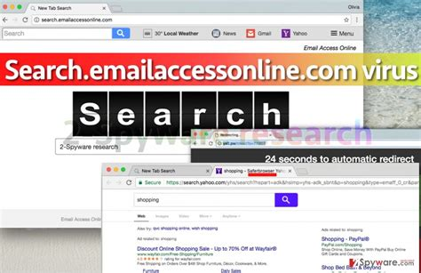 email yahoo virus google search redirects to yahoo when i search from