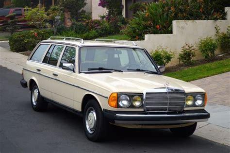 Mercedes 300td Wagon 1985 Mercedes 300td Turbo Diesel Wagon Leather Interior
