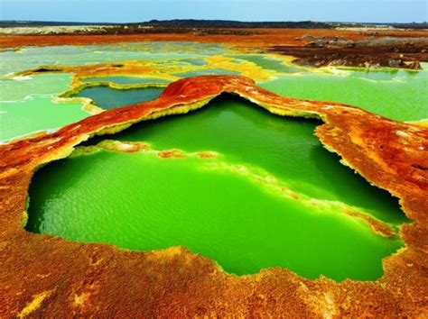 Temp Wallpaper by Ethiopia Dallol The Hottest Place On Earth Turcanin