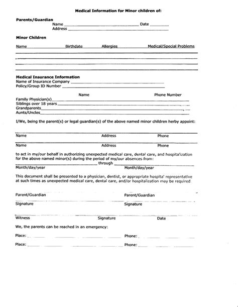 Release Letter For Grandparents Release Form Travel Trips Dads And