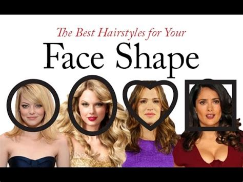 match hairdo with face shape what hair style is best for your face shape youtube