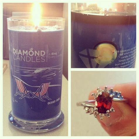 Candles With Rings Inside Them by Myfirst Diamondcandles 25 Per Candle With A Ring
