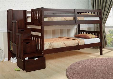 solid oak bunk beds bunk beds solid wood twin bed home ideas collection