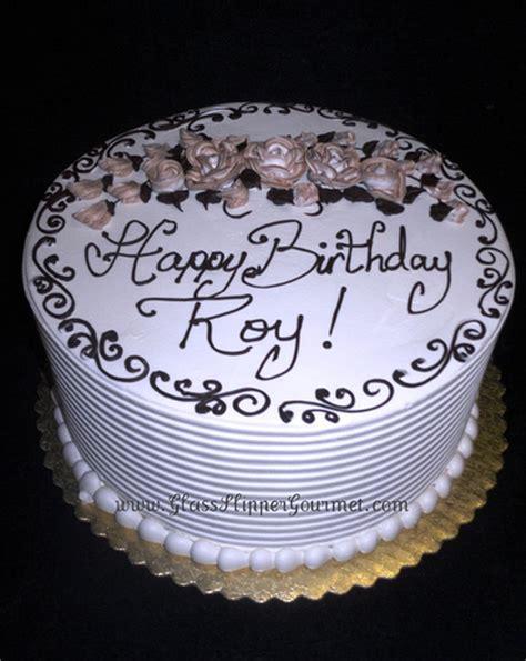 Roy's Birthday cake   4/24/10   Standard buttercream icing