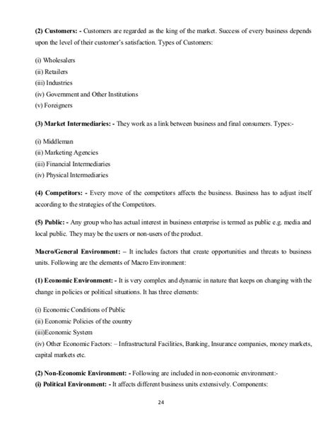 Business Policy And Strategic Analysis Mba Notes by Mba Iii Business Policy And Strategic Analysis