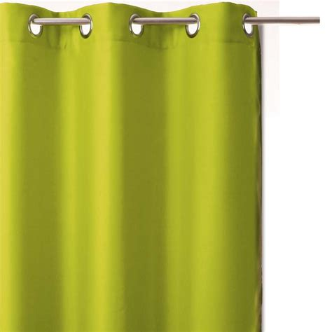 rideau occultant 140x260 vert anis