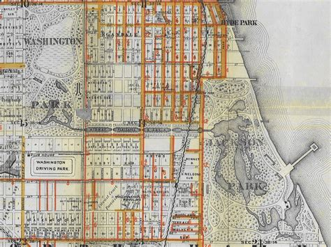 jackson park chicago map streets of chicago midway plaisance chicago library