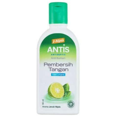 antis jeruk nipis gel ml antiseptic botol hand sanitizer shopee indonesia