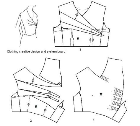 pattern drafting adding darts 256 best school images on pinterest