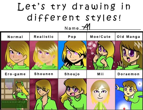 Different Meme - different styles meme by bananimationofficial on deviantart
