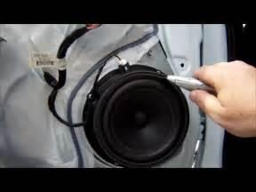 Kia Picanto Speaker Size Speaker Replacement And Door Panel Removal Kia Sportage