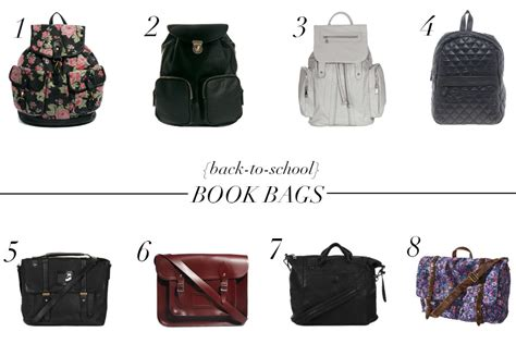 7 Bags For Back To School by Back To School Book Bags The Chriselle Factor