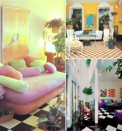 Floor Decor Miami by Design Inspiration Colorful 80s Interiors Mirror80