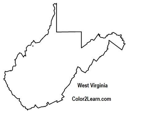 best shape vigiana best photos of west virginia state outline west virginia