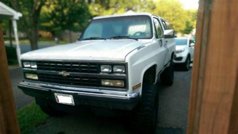 how cars run 1995 chevrolet k5 blazer lane departure warning buy used 1990 chevy blazer k5 in arnold maryland united states for us 1 200 00