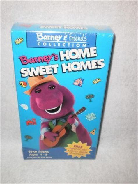 barney home sweet homes vhs ebay