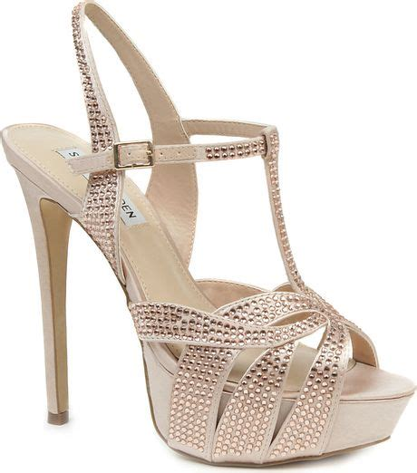 steve madden embellished sandals steve madden ally diamant 233 embellished satin sandals in