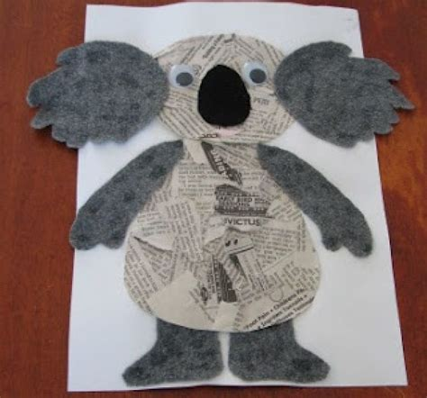 craft paper australia the 25 best koala craft ideas on koala