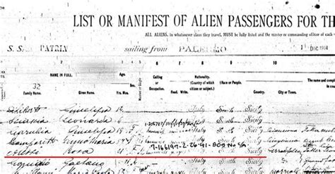 United States Birth Records Search The Search For Our Ancestry Secrets Of Ships Manifests