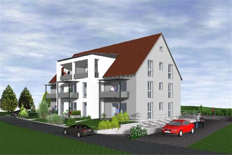 Verkauf 8 Neubau Wohnungen In Feuchtwangen Brenner
