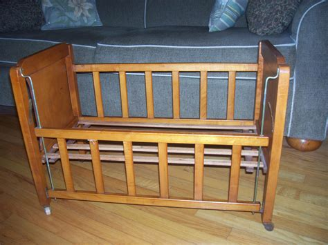 antique doll crib