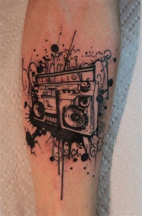 boombox tattoo designs tattoos gene coffey boom