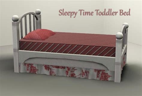 sims 3 toddler bed mod the sims sleepy time toddler bed